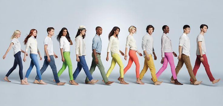 """The Gap's New Skimmer Pant is the """"Must Have Length"""" for Spring  I get antsy for spring fashion this time of year! http://www.weewestchester.com/2013/02/19/the-gaps-new-skimmer-pant-is-the-must-have-length-for-spring/"""