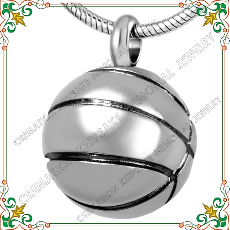 >> Click to Buy << CMJ8113 Hot Sell  football shape Stainless steel Pendant necklace memorial  jewelry Keepsake  gargantilha for man  #Affiliate