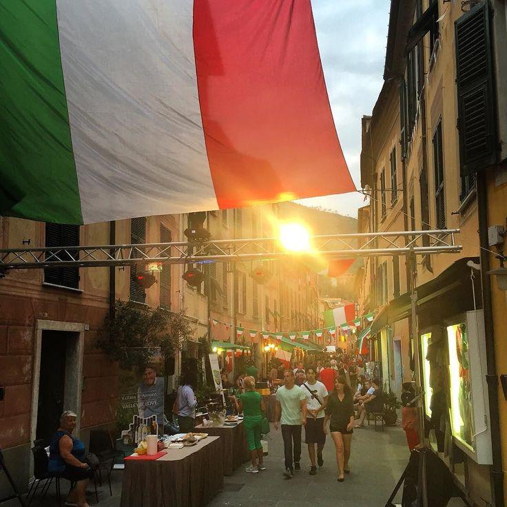 Wine and beer tasting & Italy vs Germany football match tonight in via Garibaldi!
