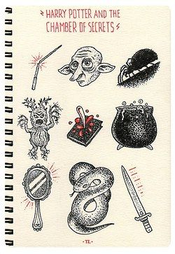 second book drawings