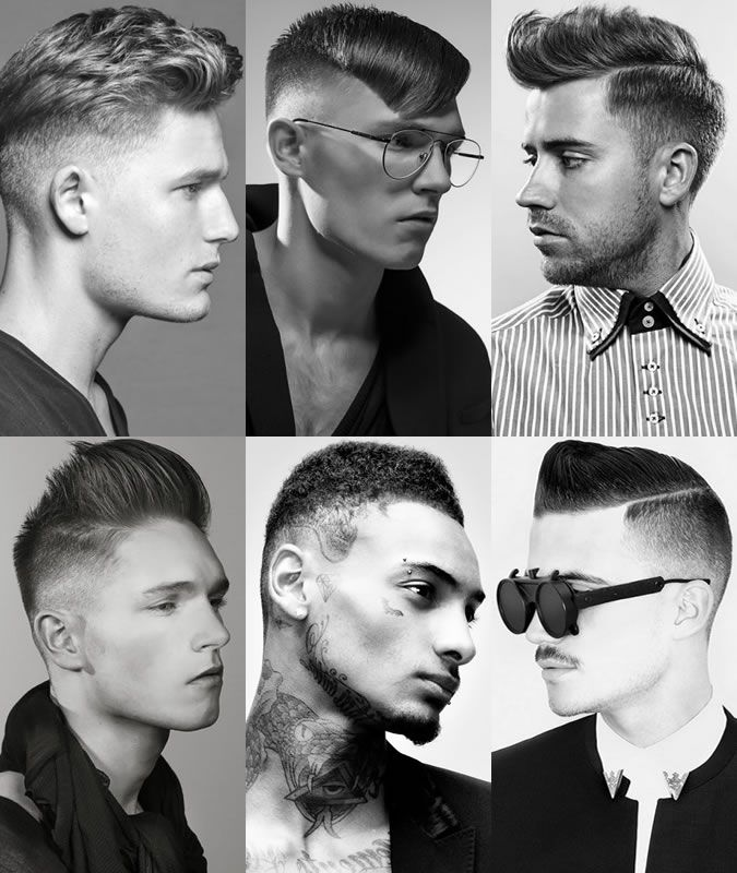 Popular Men's Hairstyles For 2014 Autumn/Winter : The Skin Fade Looks