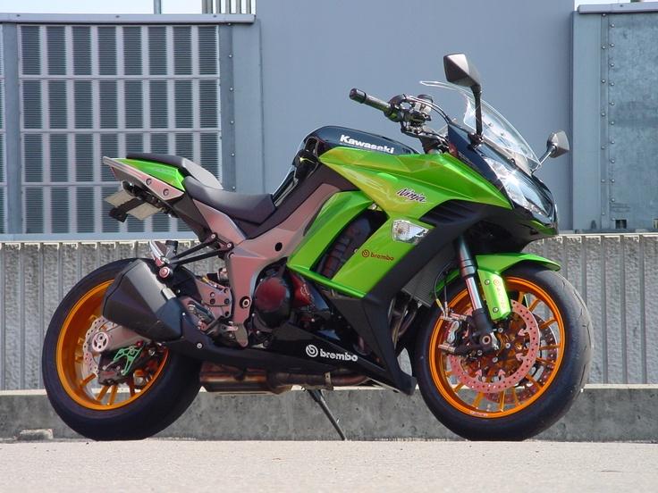 Kawasaki Ninja 1000 (Z 1000 SX) by Shabon Dama