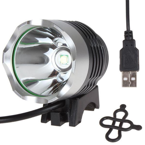 Sales Hot Selling 1200 Lumen XM-T6 LED Fietslicht Fiets licht Voor Fiets Fietsen Fiets Waterpoof Front Light & USB