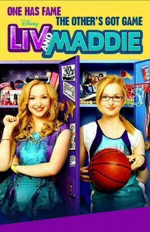 Liv and Maddie 💜💚💙💗💟💖💛❤