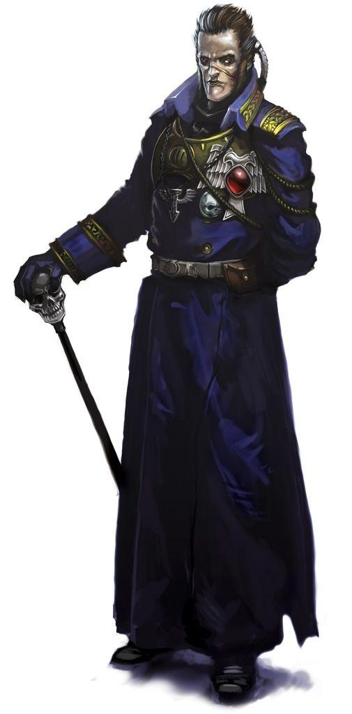"Rogue Trader RPG: Admiral Nathaniel Horne of the ""Battlefleet Koronus"""