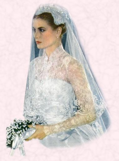 Image Detail For 1956 Grace Kelly Wedding Dress Royal Bride Princess 1950s Weddings Pinterest And