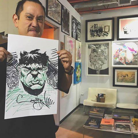 Joe's drawing.