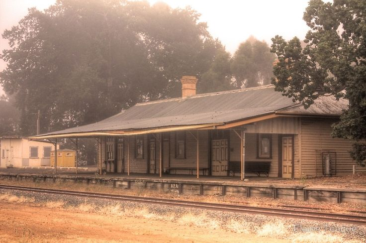 Bridgetown Railway Station, Western Australia