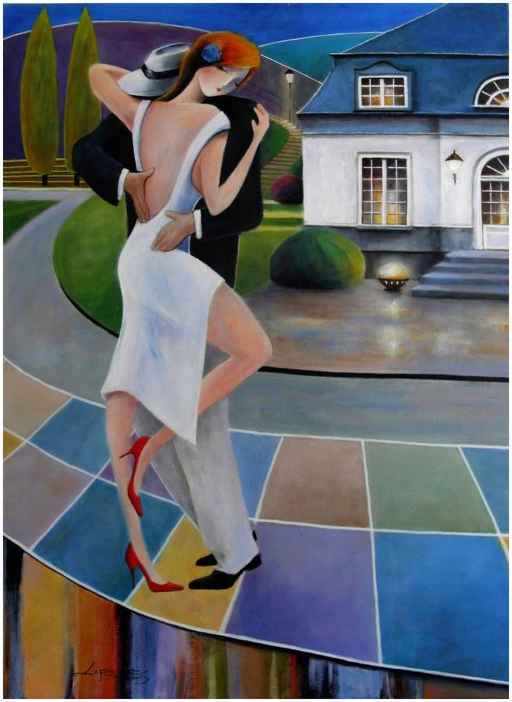 """Tango in Varde""  by  Iwona Lifsches"