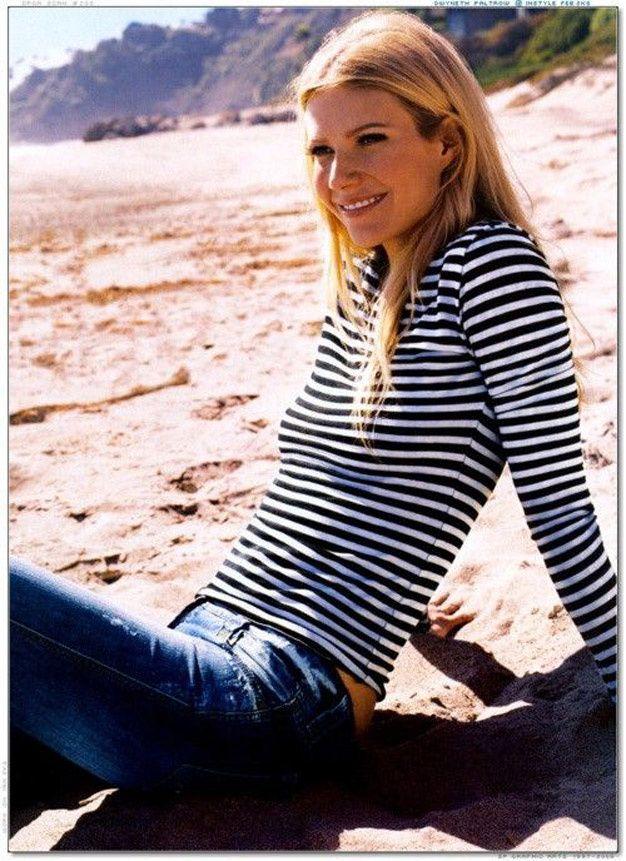 Les stars en mariniere - Gwyneth Paltrow