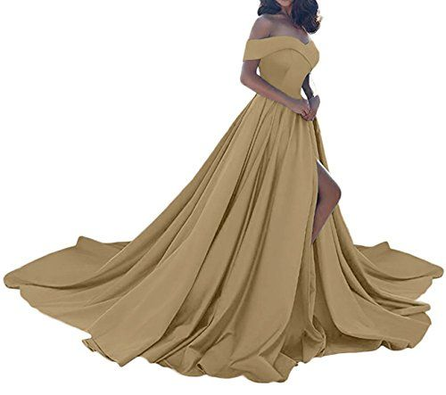 New Sound of blossoming Long Off The Shoulder Prom Dress For Women Sweetheart Stain Slit Evening Wedding Party Gowns SOB094 online. Perfect on the Donna Morgan Dresses from top store. Sku daip17423alzd86317