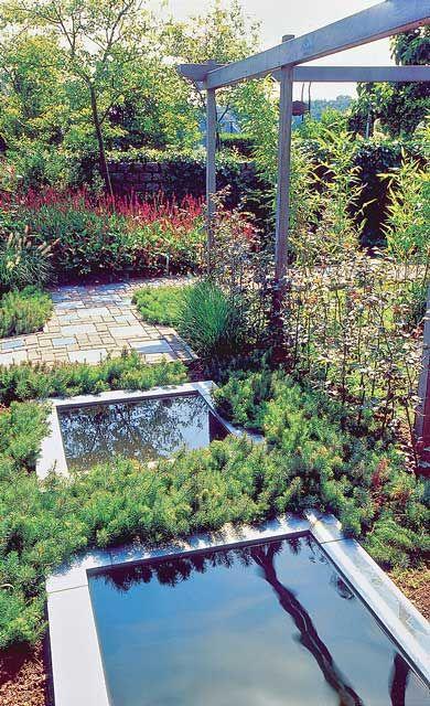 Die besten 25+ Gartenteichbecken Ideen auf Pinterest Wasserlauf - wasserbecken kunststoff rechteckig