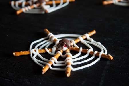 Halloween Spider Web Snack