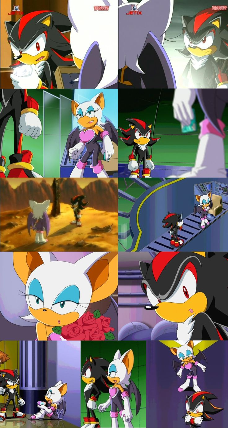 Sonic x screenshots sonic the hedgehog image sonic x episode 64 a - Sonic X More Shadouge Screenshots Shadow And Rouge