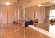 Learn How To Do Plank Scissor Leg Pole Move Online Pole Dancing Lesson The Pole Fitn...