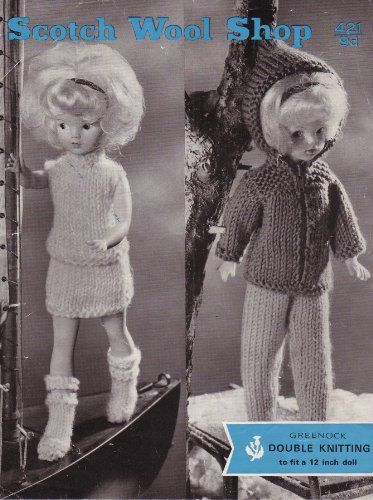 Simple Knitting Patterns For Scarves : 376 best images about Barbie, Sindy and Ken dolls clothes - Knitting and Croc...