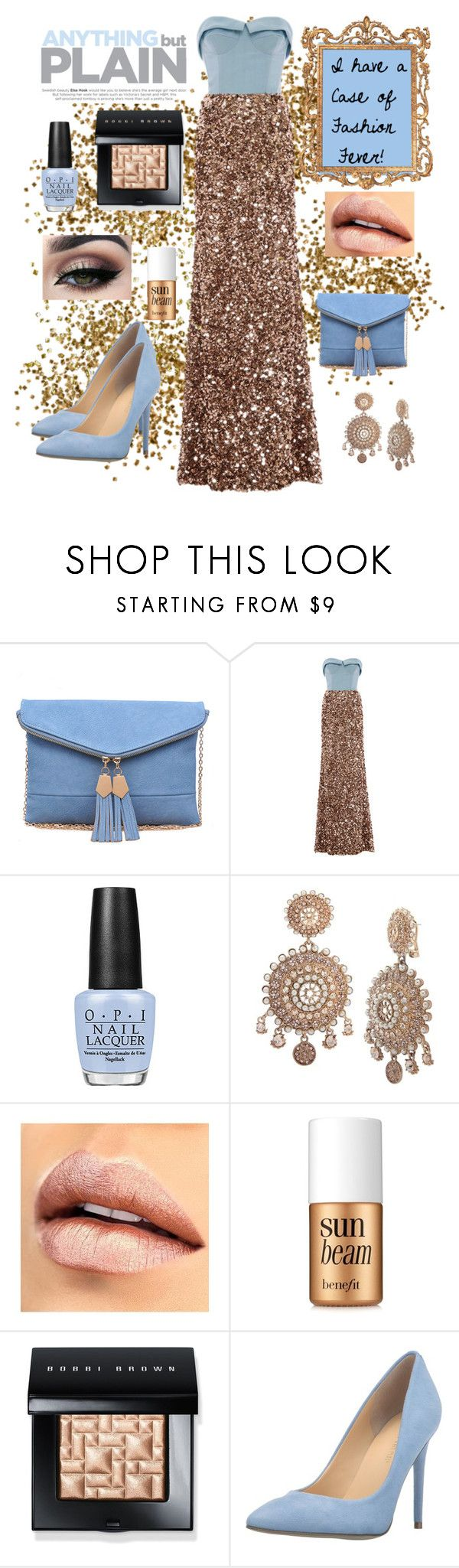"""""""I have a case of fashion fever"""" by lulalalala ❤ liked on Polyvore featuring Urban Expressions, Elizabeth Kennedy, OPI, Marchesa, Tiger Mist, Benefit, Bobbi Brown Cosmetics, Ivanka Trump, gold and fashionfever"""