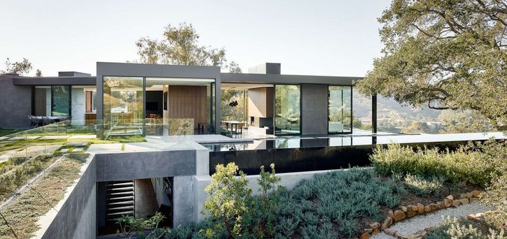 oak main pass house par walker workshop los angeles usa - Maison Moderne Avectoiture