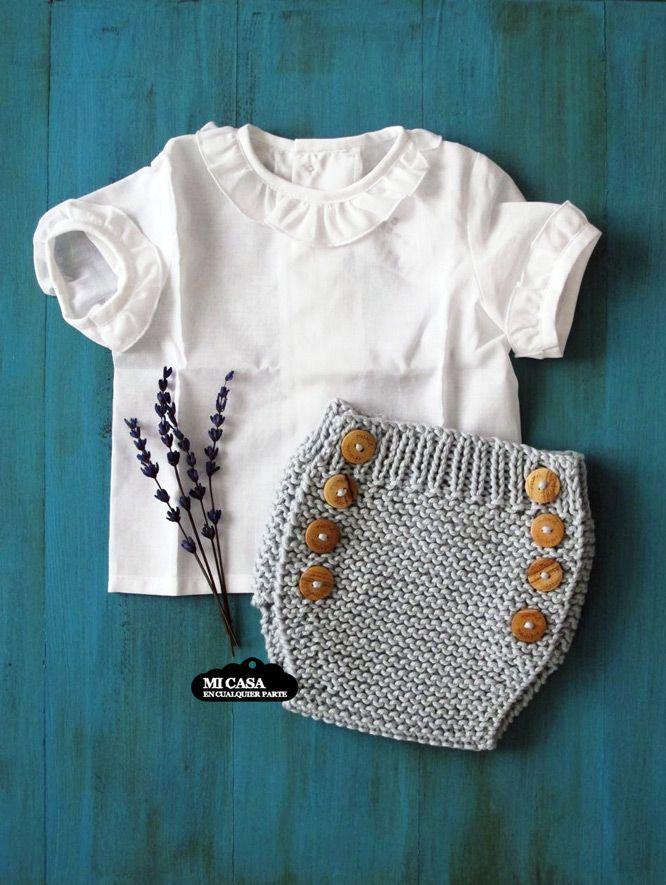 Culotte de punto de inspiracion vintage de Mamá  madejas y camiseta de Ancar. The City Pop Up Bilbao | Blog www.micasaencualquierparte.com