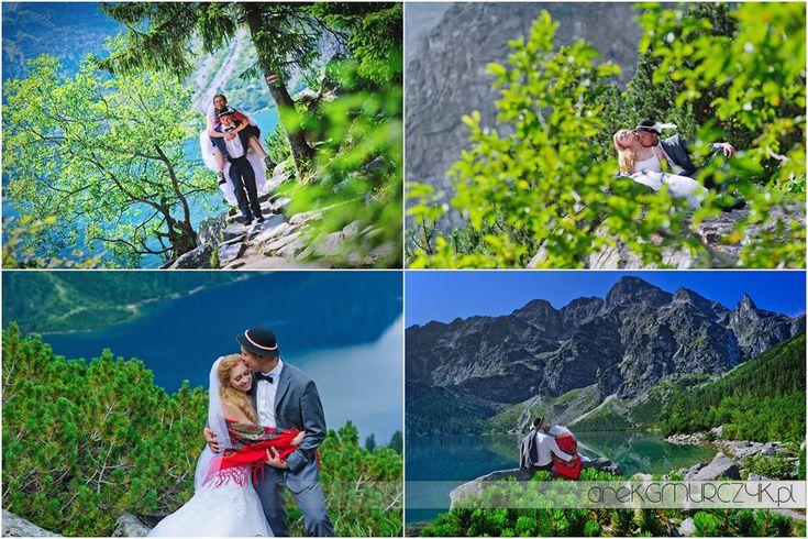 #Tatry najpiękniejsze! Sesja ślubna Moniki i Tomka