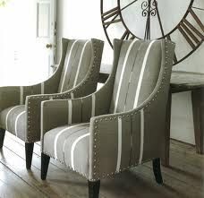 Love these armchairs...color.....clock