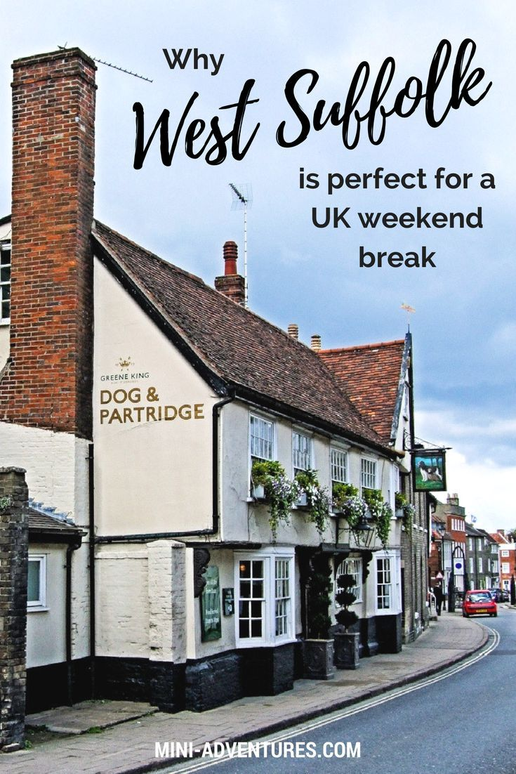 The quaint towns, beautiful countryside and lively local market shops of West Suffolk make it the perfect destination for a laid back weekend break exploring the UK. | #england #suffolk #weekendbreak #uktravel #travelblogger #travelblog #countryside