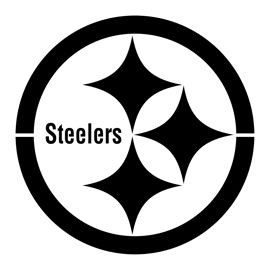 NFL Pittsburgh Steelers Stencil