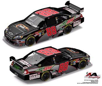 DALE EARNHARDT JR #88 FOUNDATION MOUNTAIN DEW 1:64 2010 IMPALA