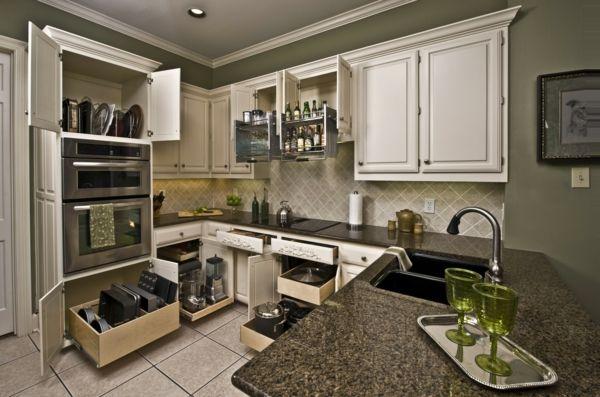 küchenregale küchenideen küchengestaltung küche einrichten