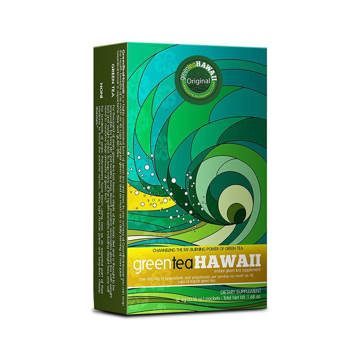 Green Tea Hawaii - 12 Packets - Starter Pack Original flavor -- Hurry! Check out this great product : Weight loss Supplements