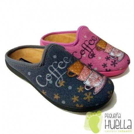 583833f9982 Zapatillas de casa para mujer de invierno Doctor Cutillas. Zapatillas  anatómicas con plantilla extraible comodísimas