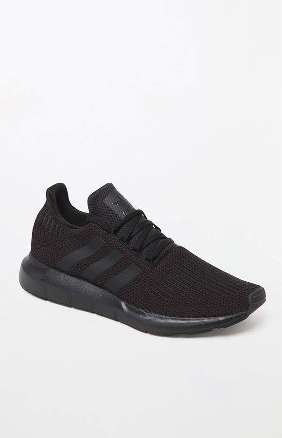 adidas Swift Run Knit Black Shoes