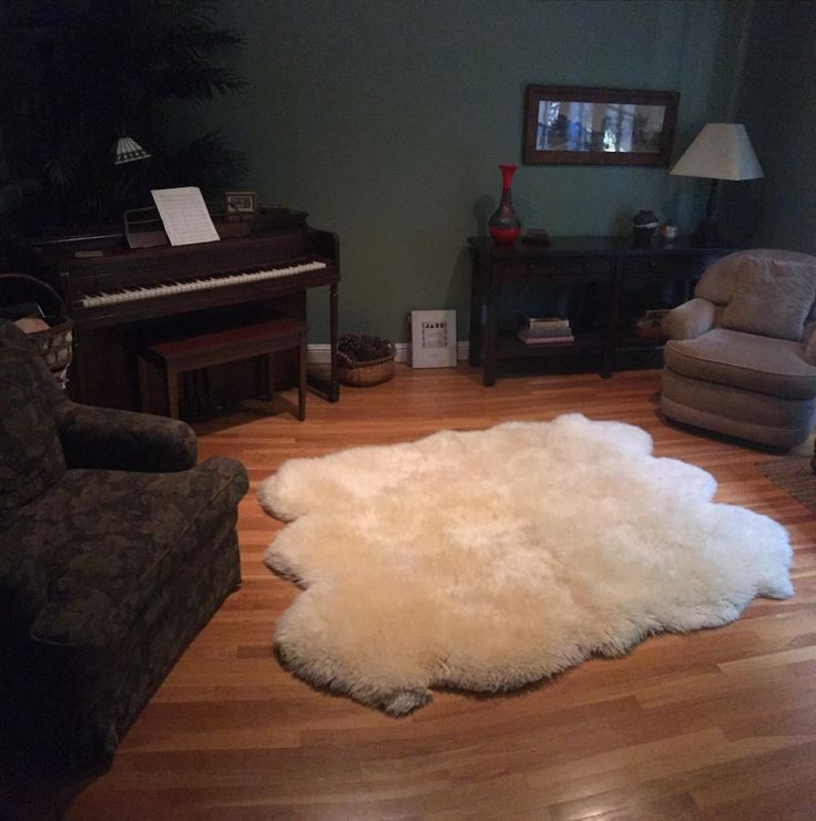 Used Bowron Sexto Sheepskin Rug For Sale In Los Angeles