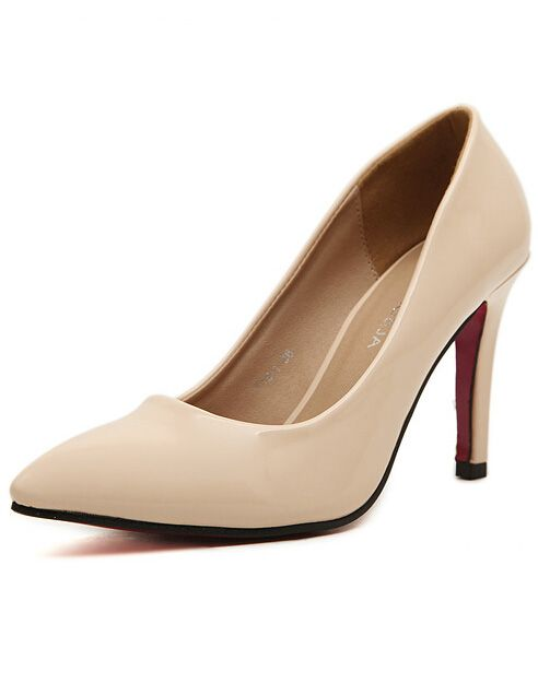 Apricot Point Toe High Heeled Pumps 27.00