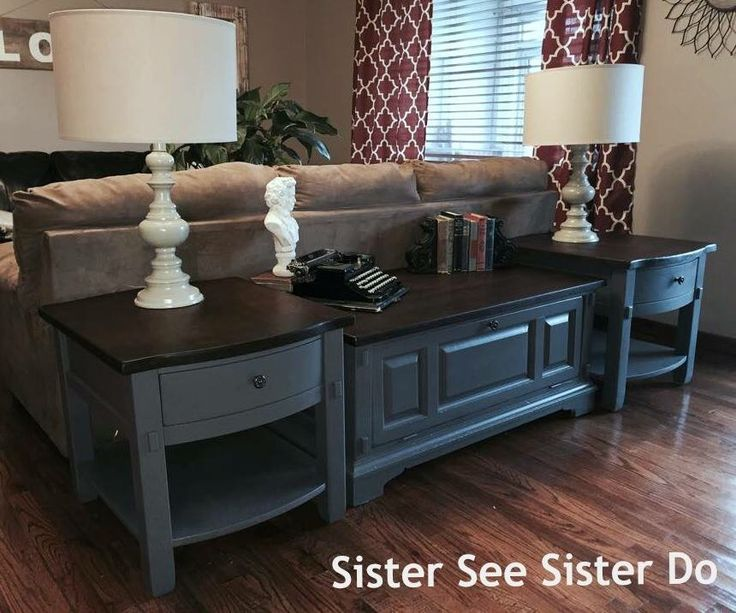 25 best ideas about End Table Makeover on PinterestRefinished