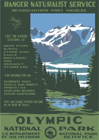 Want to get a few of these WPS National Park Posters for the parks we have been to
