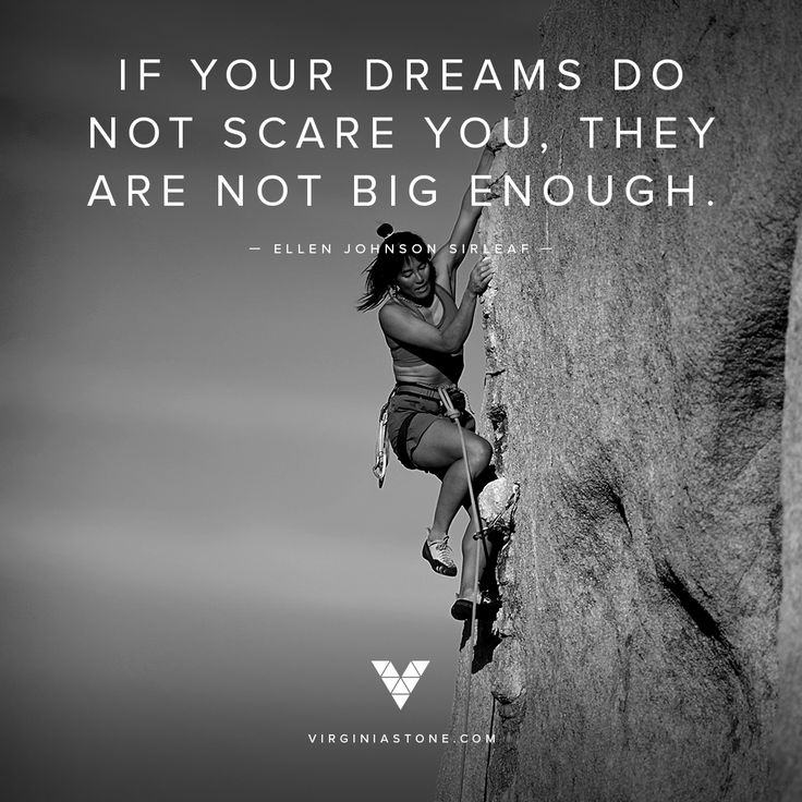 Dream big, because anything is possible. @myvirginiastone #quote #inspiration #adventure
