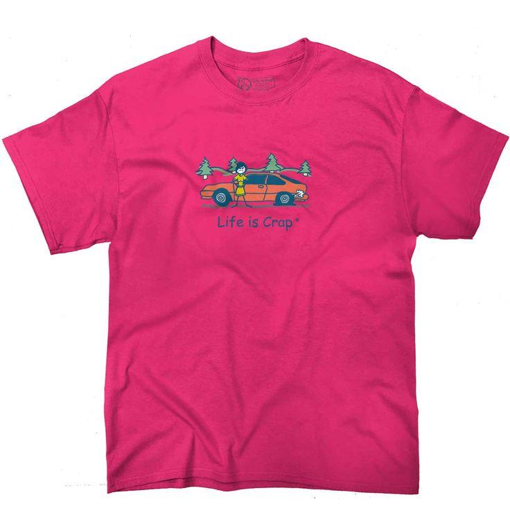 Flat Tire T-Shirt