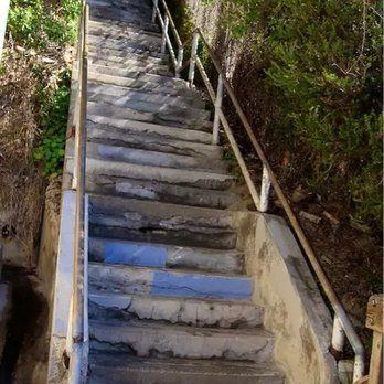 Thousand Steps Beach - The 'never ending' stairs - Laguna Beach, CA, United States