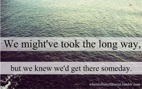 Shania twain! These lyrics are very true - we are still together still going strong <3