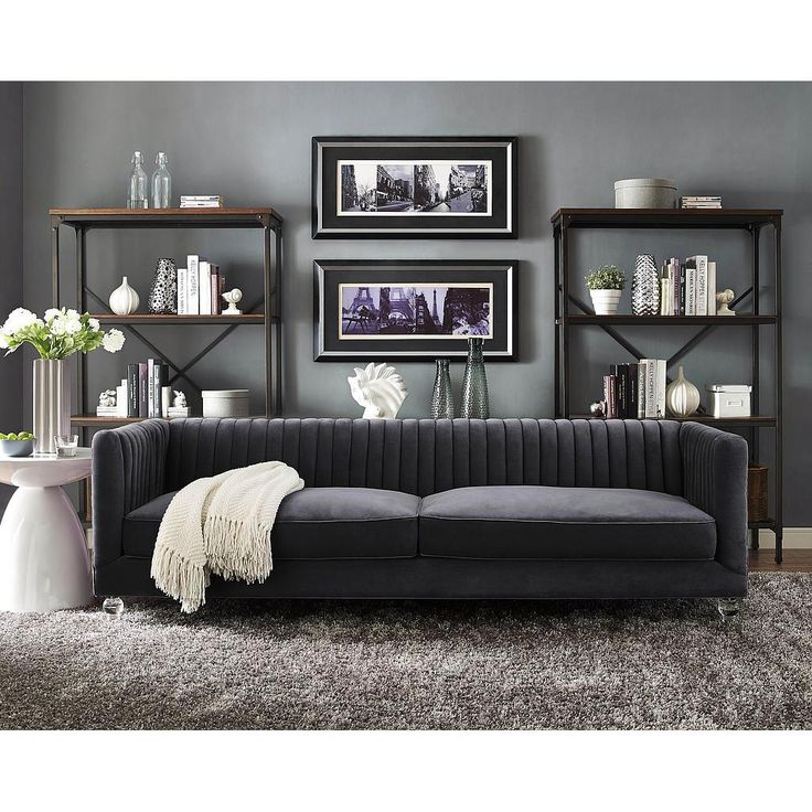 Gray Velvet Sectional Sofa: 17 Best Ideas About Grey Velvet Sofa On Pinterest