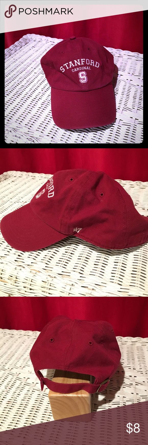 EUC Stanford Baseball Cap Go, Cardinal! Thick cloth hat. Perfect for fans from the Farm. Adjustable band. Almost never worn. Stanford Accessories Hats