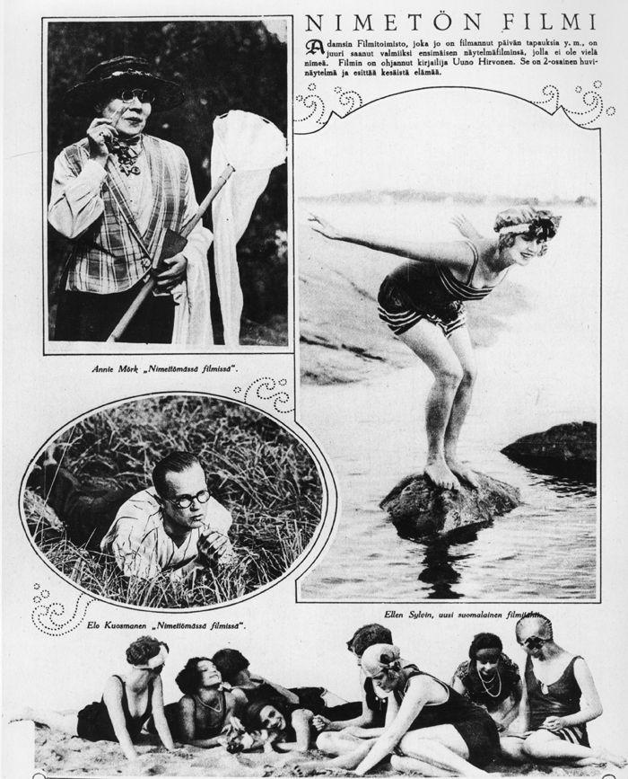 Meren ja lemmen aallot (1926) | Kansallinen audiovisuaalinen arkisto