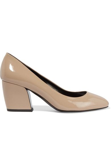 Pierre Hardy - Calamity Patent-leather Pumps - Beige - FR