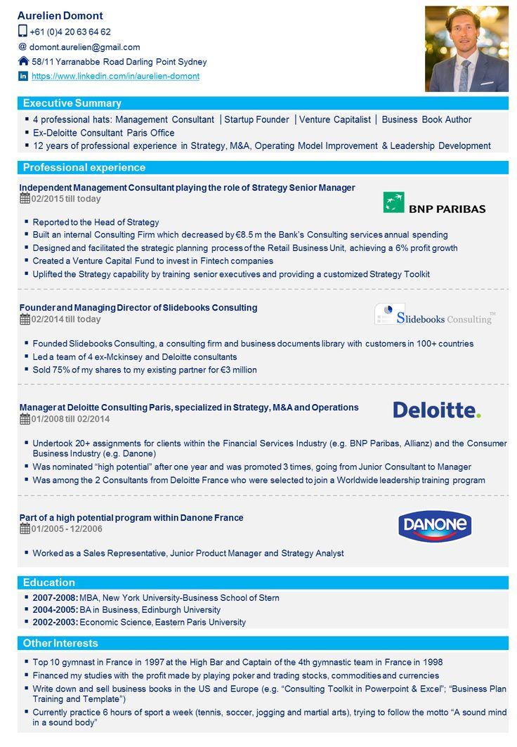 8 best professional cv template resume template in powerpoint free resume templates toneelgroepblik Images