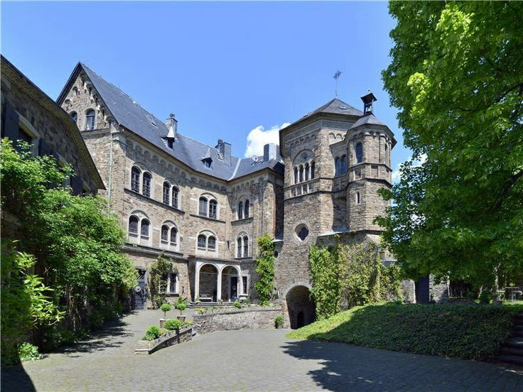 Bad Breisig (Rheinland-Pfalz) - Rheineck Castle / Burg Rheineck / Château de Rheineck