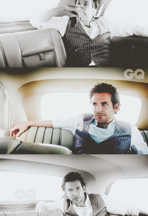#sexy #male why, hello bradley. i would love to sit in the backseat with you! <3