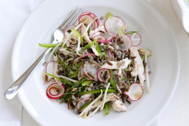 This healthy Asian-style salad is proudly brought to you by Campbell's Real Stock and Taste.com.au.