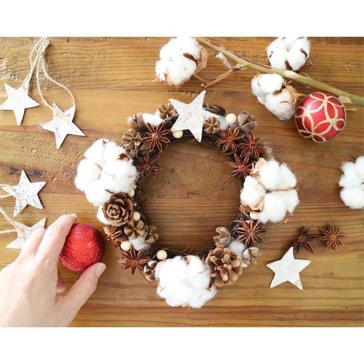 2016年はオリジナルで100均アイテムで簡単に作れるクリスマスリース
