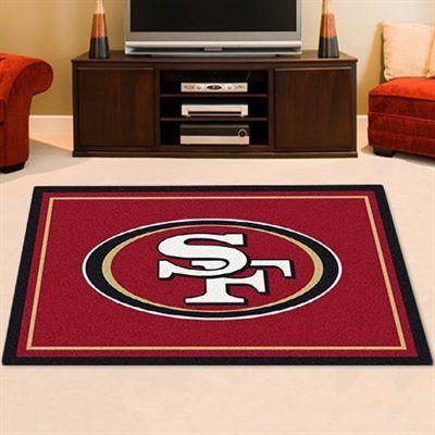 San Francisco 49ers 3'10'' x 5'4'' Logo Rug